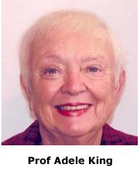 Prof Adele King