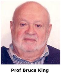 Prof Bruce King