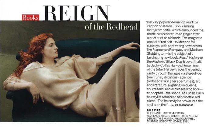 Vogue June 2015 review