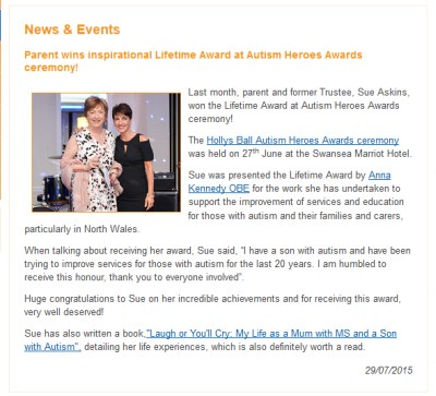 Borrowed from Autism Awards website